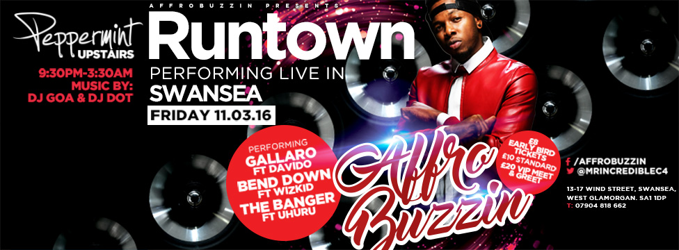 runtown poster design
