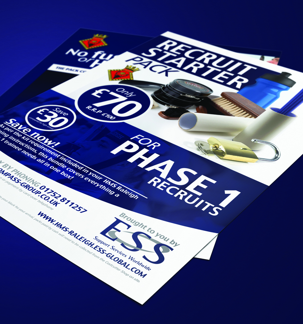 retail leaflet design flyer printing plymouth seenindesign