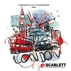 scarlett entertainment booklet design brochure design