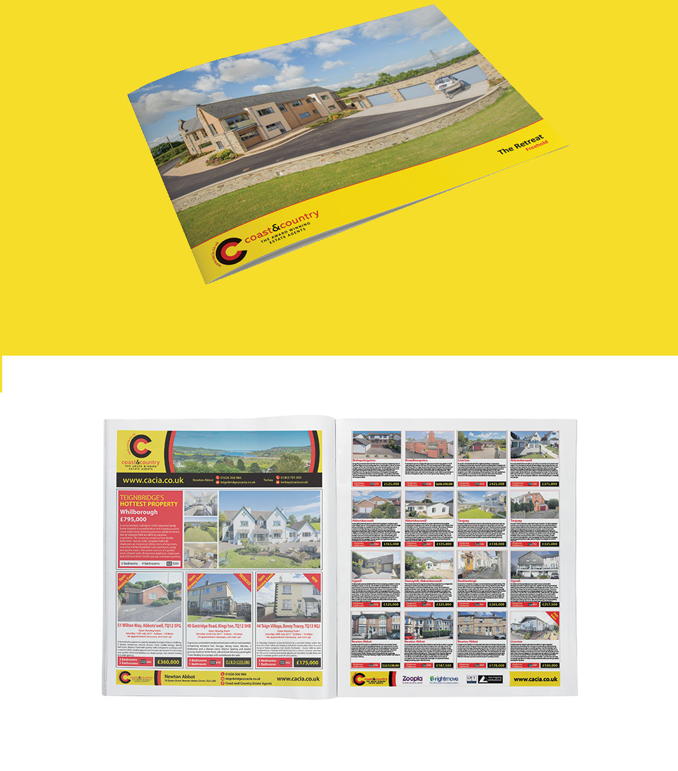 brochure design, newton abbot, business card design